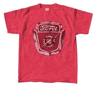 Ford Lightning Logo T-Shirt Red 3X-LARGE