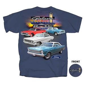 Ford Galaxie Diner T-Shirt Blue 3X-LARGE DISCONTINUED