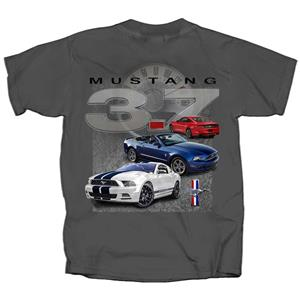 Ford Mustang 3.7 T-Shirt Grey LARGE