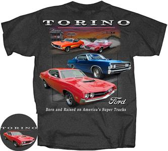 Ford Torino T-Shirt Grey SMALL DUE LATE 2019