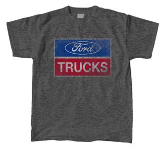 Ford Trucks Logo T-Shirt Dark Grey MEDIUM