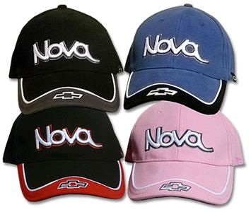 Nova With Bowtie Cap Blue & Black