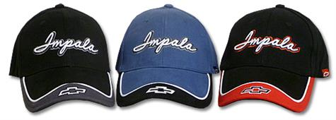 Impala With Bowtie Cap Black & Red