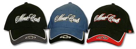 Monte Carlo With Bowtie Cap Black & Red