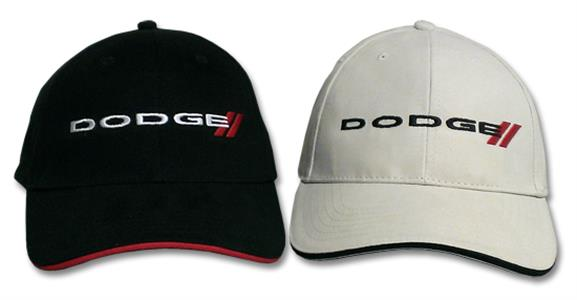 Dodge Stripe Logo Cap Bone