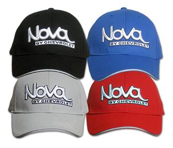 Nova By Chevrolet Cap Black