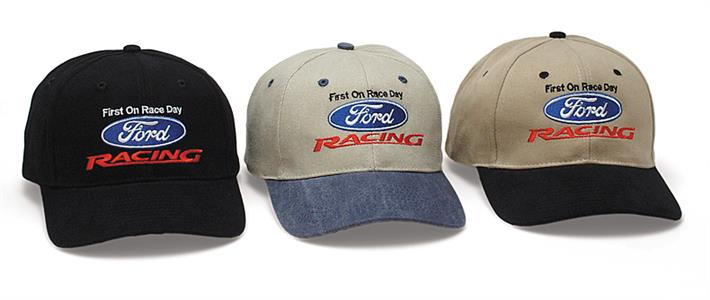 Ford Racing Cap Blue & Stone