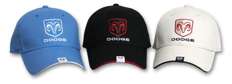Dodge Ram Tag Cap Black