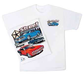 Mopar Street Warriors T-Shirt White LARGE