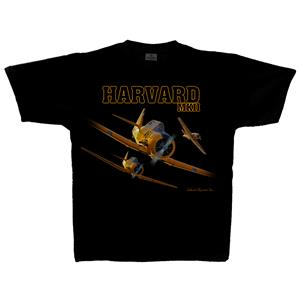 Harvard MkII T-Shirt Black LARGE