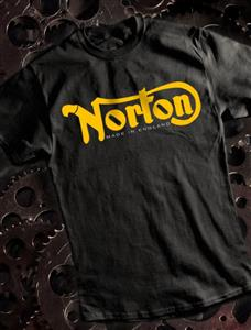 Norton - Made In England T-Shirt Black SMALL