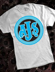 AJS T-Shirt Ash Grey 3X-LARGE