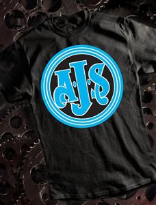 AJS T-Shirt Black X-LARGE