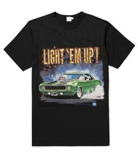 Camaro Light Em Up T-Shirt Black LARGE