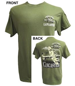 Lancaster British Legend Action T-Shirt Olive Green 3X-LARGE