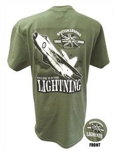 Lightning British Legend Action T-Shirt Olive Green X-LARGE